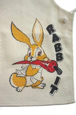 画像2: 子供用エプロン ウサギ