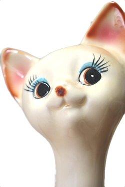 画像3: ペア猫の置物 特大