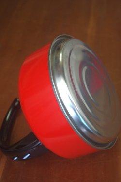 画像4: 笛吹きやかん アルミ赤色