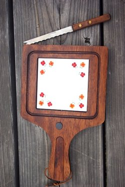 画像4: チーズカッター・ポットホルダー2枚付き 木製まな板
