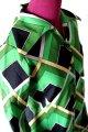東京スタイル 長袖シャツ シャツワンピース 緑幾何学模様