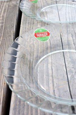 画像1: オールドデュラレックス(OLD DURALEX)スーププレート クリア