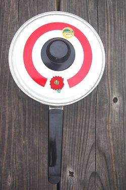 画像2: 象印ホーロー片手鍋18cm 花柄
