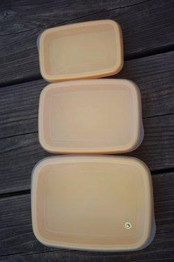 画像2: タケヤプラスチック 保存容器 黄色 3SET