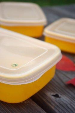 画像1: タケヤプラスチック 保存容器 黄色 3SET