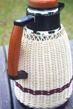画像3: ヨットマホービン 手編湯差 魔法瓶  1ℓ